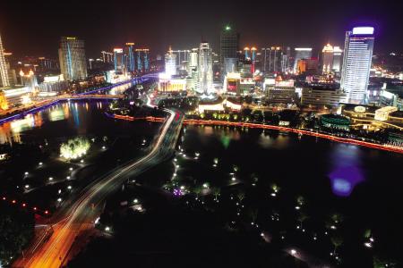美丽风景图夜晚无水印