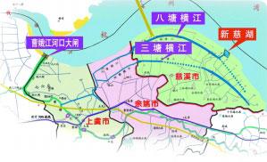 慈溪新慈湖水库工程开建 打造省内最大滩涂生态湖图片
