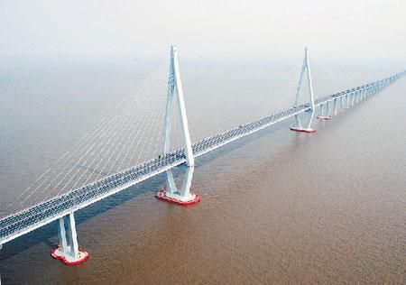这在我国桥梁建设史上还是第一次