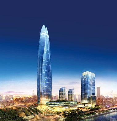 宁波中心 宁波的城市地标