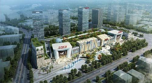 广州增城万达广场 增城新地标性建筑