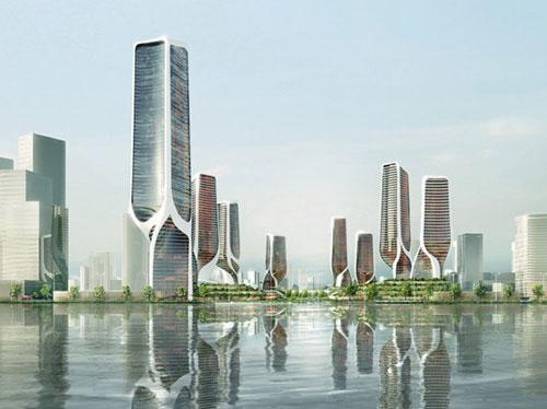"""国际设计大师为温州""""定制""""地标建筑"""