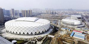 浙江省首个开闭式体育场即将在绍兴落成