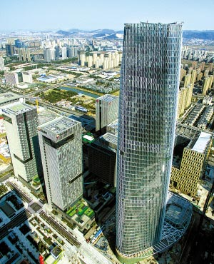 宁波东部新城崛起新地标