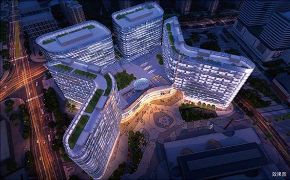 杭州城北新地标 新天地中心正式开业