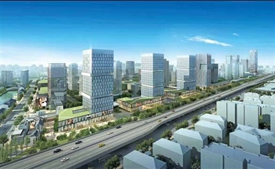 未来沿上塘路将建总部经济楼宇集群