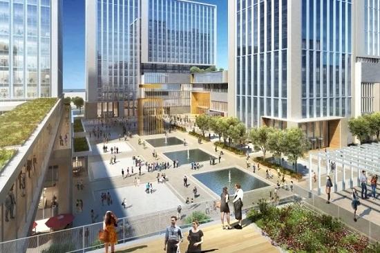 从世界到杭州,知识城市创新区落地杭州黄龙万科中心