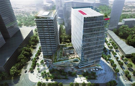亚运门户总部级办公基地崛起 奥体万科中心开创城市新中心活力时代