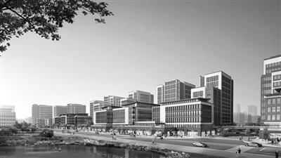 丁兰智慧小镇里正在新建一座科技城:启迪协信杭州科技城