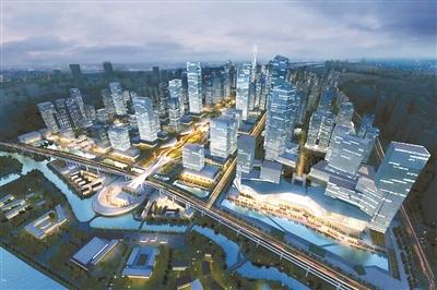 钱江世纪城核心区单元规划通过市政府批复 新增地铁X号线