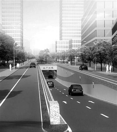 未来科技城要建70万平方米的地下空间 杭州首条地下环路预计今年底完工