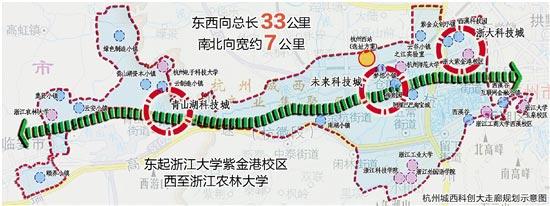 杭州城西科创大走廊打造增长金钥匙