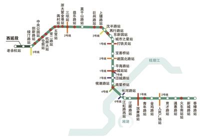杭州地铁最新动态:5号线、6号线、杭临线建设进度最快