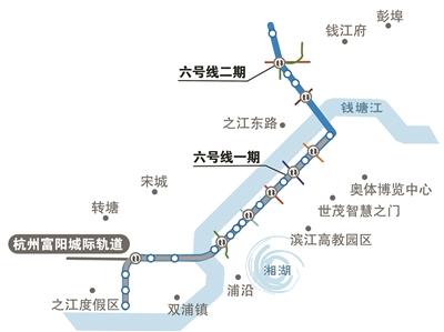 杭州地铁6号线一期工程 正式开始铺轨施工