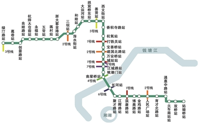 杭州地铁5号线38座车站位置和正式站名确定