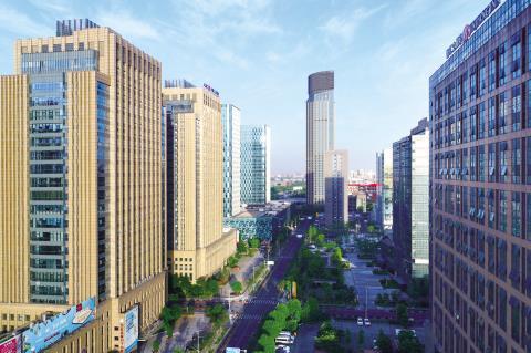 """嘉兴南湖新区将全面实施楼宇经济""""两提升两优化""""行动"""