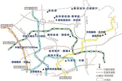 大城北楼市地图 制图:朱昊