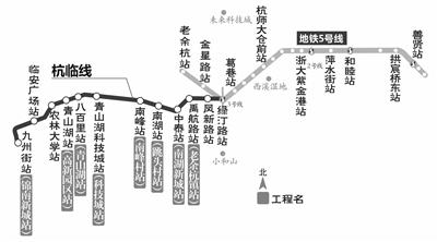 杭临城际铁路车站位置和正式站名确定