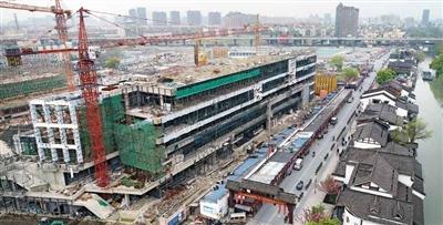 杭州拱墅区胜利河旅游综合体项目将于年内投用