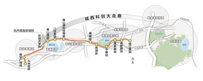 """杭临城际轨道计划年底开通 杭州""""第十区""""加速融杭"""