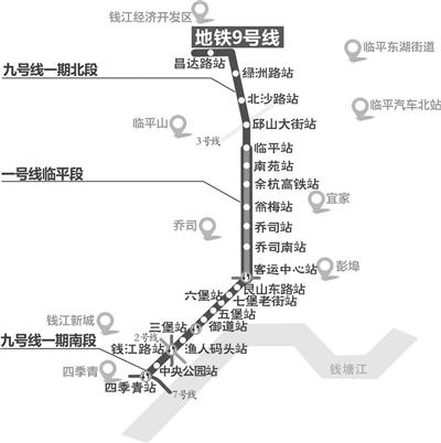 """9号线御道站为""""杭州地铁第一深"""" 地下连续墙深达70.57米"""
