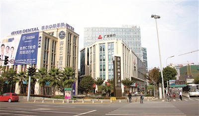 宁波江北区楼宇经济从低效向高质发展
