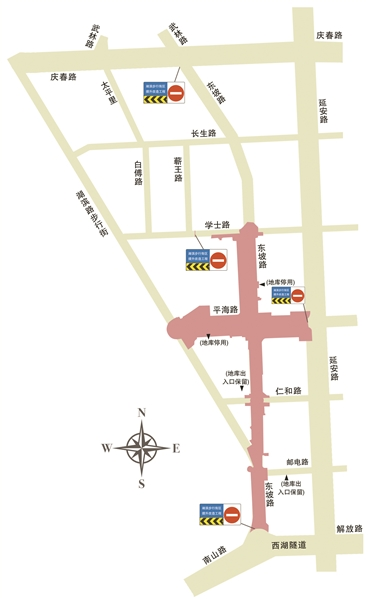 杭州湖滨步行街将改造提升 力争国庆亮相