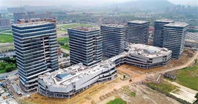 杭州顺丰全球创新中心雏形初显