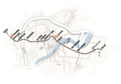 杭州机场轨道快线列入省重点建设项目