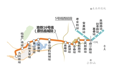 杭州地铁16号线开始试运行