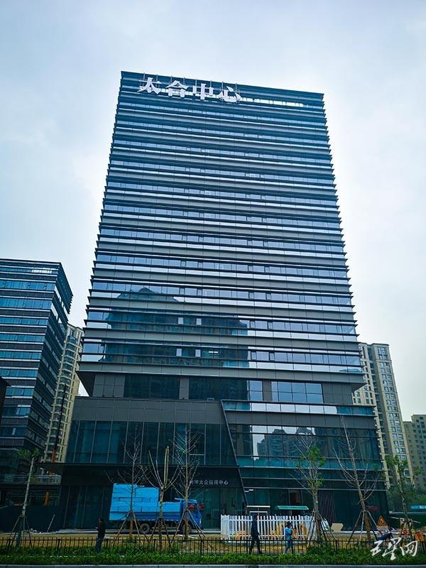杭州拱墅区申花产业聚集区又添一新潮城市地标