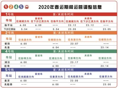 杭州地铁开启春运模式 运营时间调整
