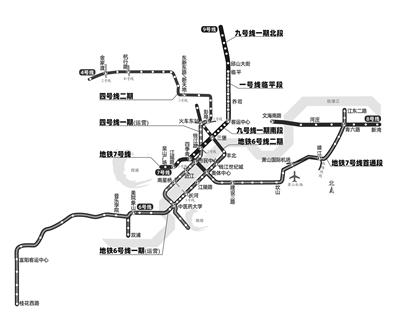 今年杭州还将迎来5条地铁新线路