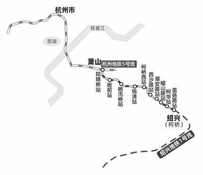 杭绍城际铁路今年6月具备通车条件